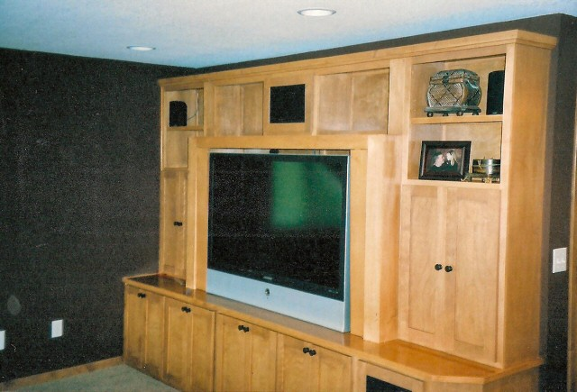 basement finishing contractor remodeling