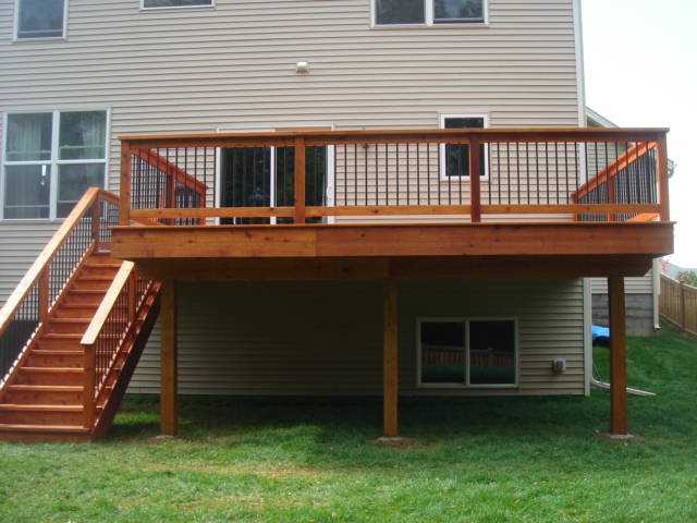 Woodbury area deck builder sbci construction for 16 by 16 deck plans